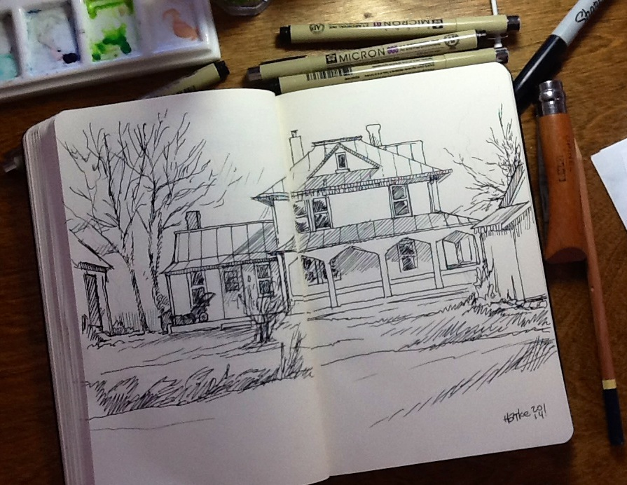 my house drawing