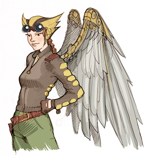Hawkgirl: Art And Adventure: Hawk Girl